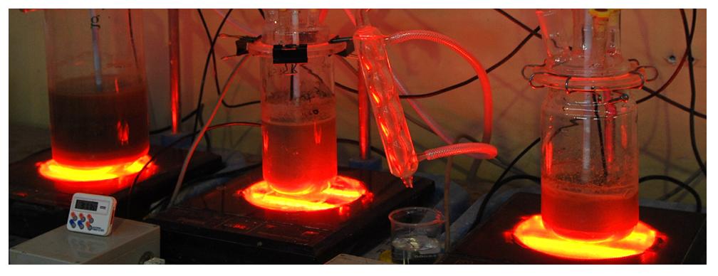 laboratuvarda hidrometalurji uygulaması